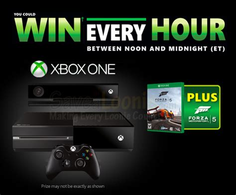Pepsi Xbox One Giveaway - xbox one win every hour contest deals from savealoonie