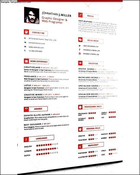 clean resume format simple clean resume format sle templates