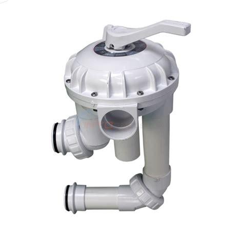 Plumbing Flow Valve by Pentair 2 Quot High Flow Multiport Valve W Plumbing For