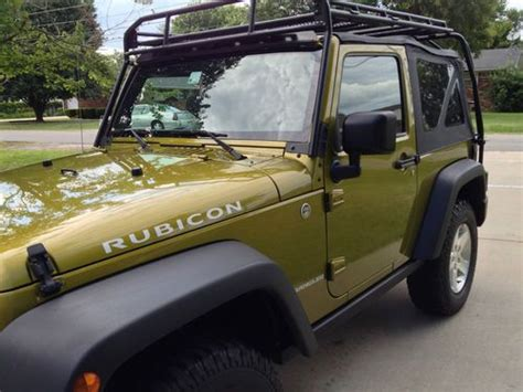 Wrangler Top Roof Rack by Sell Used 2007 Jeep Wrangler Rubicon 2dr Soft Top