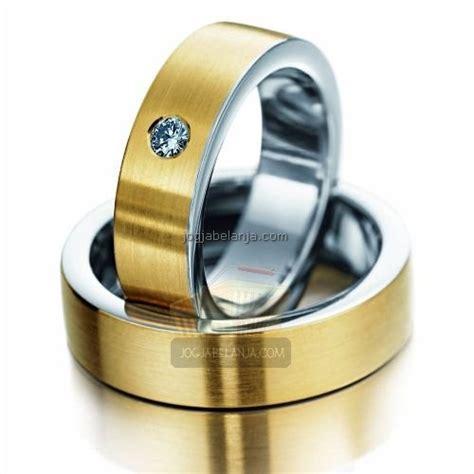 Cincin Perak Handmade Model Bulat Lapis Emas cincin kawin najm perak lapis emas cincin kawin jogja