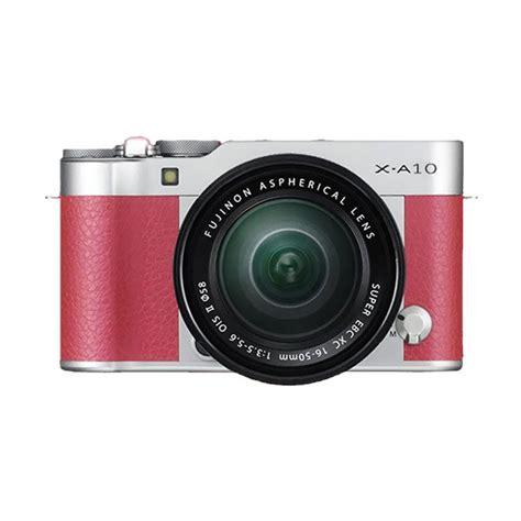 Kamera Fujifilm A10 jual fujifilm x a10 kit xc 16 50mm f 3 5 5 6 ois ii pink