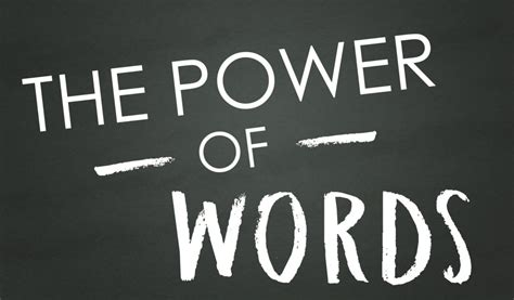 Words Of Power the power of words community church greensburg