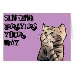 sending you my prayers cards sending you my prayers card templates postage invitations