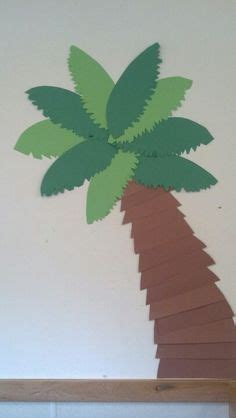 How To Make A Paper Palm Tree - how to make a paper palm tree summer and trees