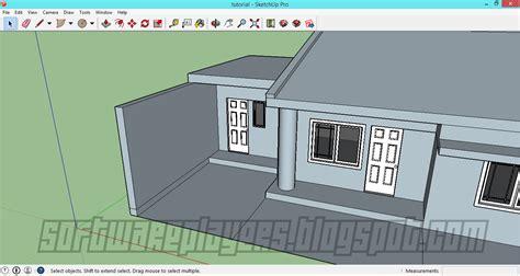 membuat video animasi dari sketchup desain rumah minimalis menggunakan google sketchup full