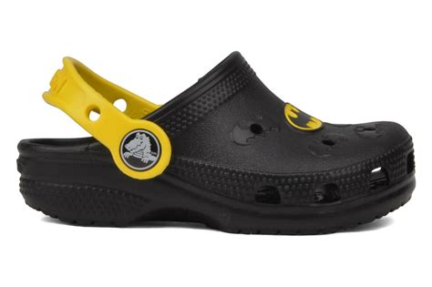 Crocs Batman 1 crocs batman molded cayman sandals in black at sarenza co uk 36798