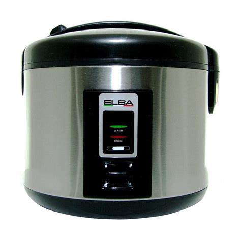 Rice Cooker Sedang jual daily deals elba erc 182ss rice cooker silver