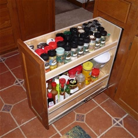 pull out spice cabinet insert narrow spice rack cabinet roselawnlutheran