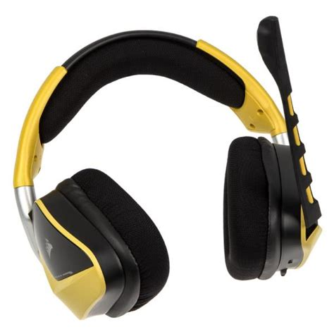 Corsair Headset Gaming Void Wireless Dolby 71 Special Edition Yellow 1 corsair void wireless se dolby 7 1 gaming headset special