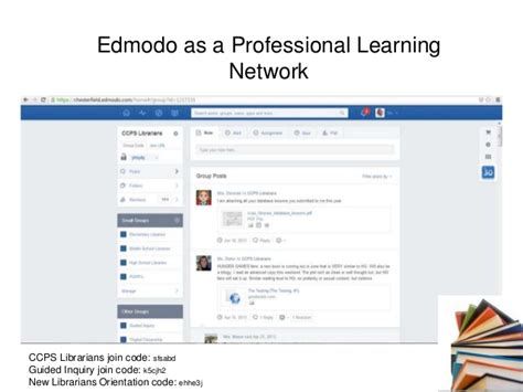edmodo walking app new librarian orientation nuts and bolts
