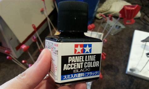 Tamiya Panel Accent Black Gundam Tools tamiya panel line accent color review ism gaming gunpla digital
