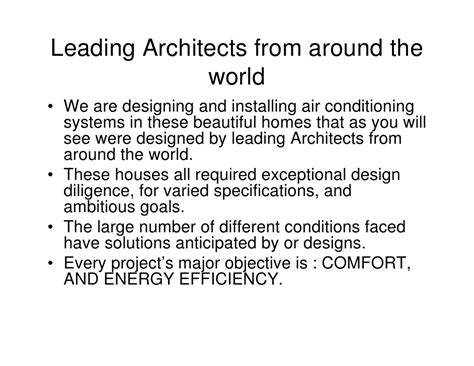 engineered comfort systems comfort engineered systems inc local architects slide show