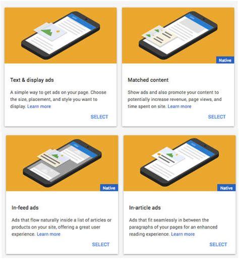 advertising format adalah cara memasang iklan google adsense auto ads terbaru