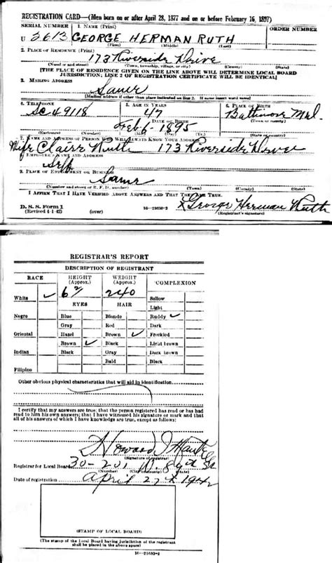 Baltimore City Birth Records Ruth Genealogy Project Records