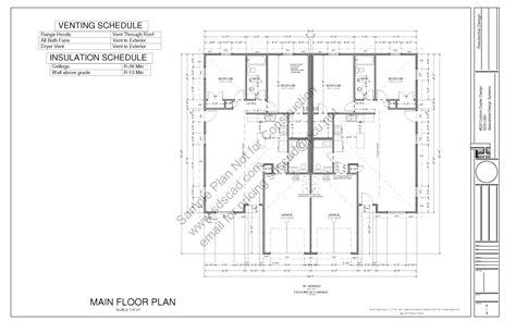 duplex house plans 1000 sq ft 220 1000 sq ft 2 bdrm 1 1 2 bath duplex apartment plans
