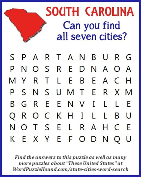Search South Carolina Word Puzzles Word Puzzle Hound Page 9
