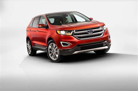2015 Ford Edge by 2015 Ford Edge Titanium Front End