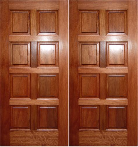 panel doors what materials are wood panel doors made from
