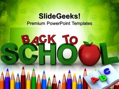 back to school powerpoint template free powerpoint templates education theme