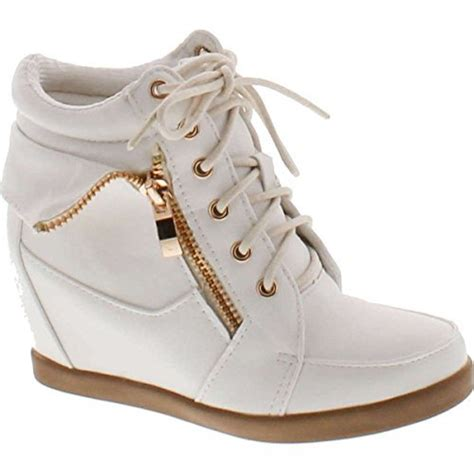 Wedges Boot Yy Coklat high tops for