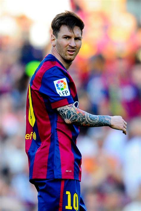 is lionel messi tattoo real lionel messi photos fc barcelona v real sociedad de