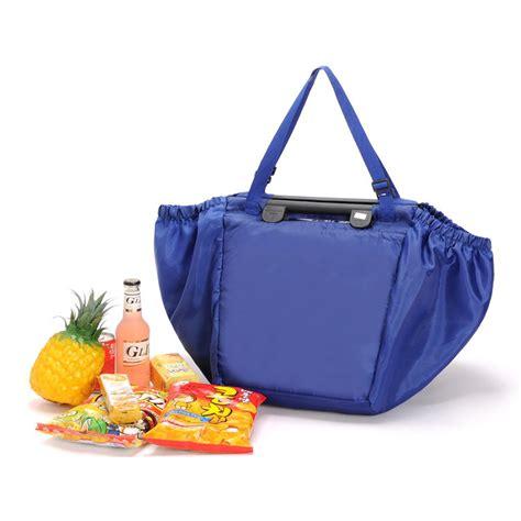 Tas Nebraska Bag Blue tas belanja lipat trolley shopping bag blue