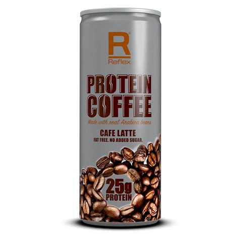 Protein Coffee made with real Arabica beans   Reflex Nutrition