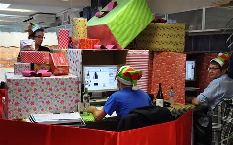 christmas desk decoration competition see other awesome