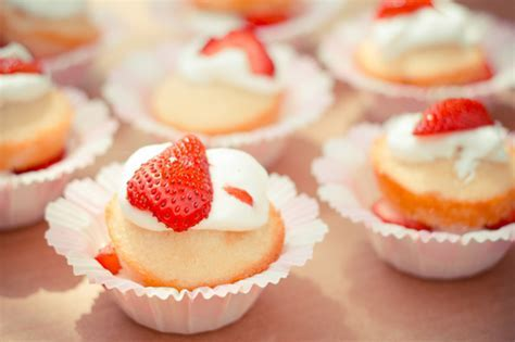 Pin Food Cupcakes Strawberries Cakes Hd Wallpaper Free