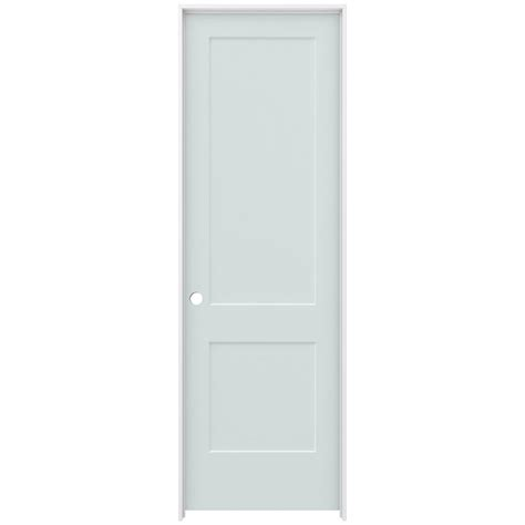 Jeld Wen 32 In X 96 In Smooth 2 Panel Light Gray Solid 96 Interior Doors