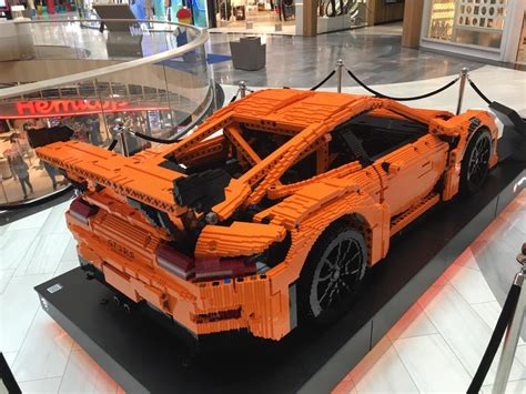 lego porsche size epic sized porsche 911 gt3 rs lego car in sweden