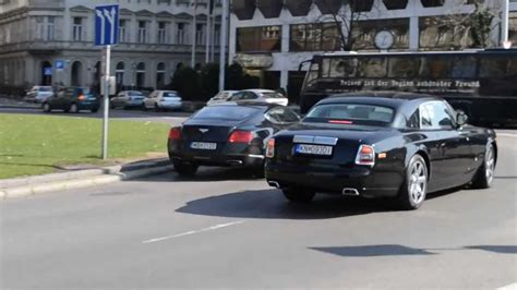 bentley wraith convertible rolls royce phantom coupe bentley continental gt youtube