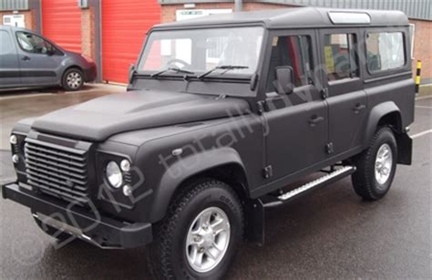 land rover defender matte black defender land rover with matte black car wrap matte wrap