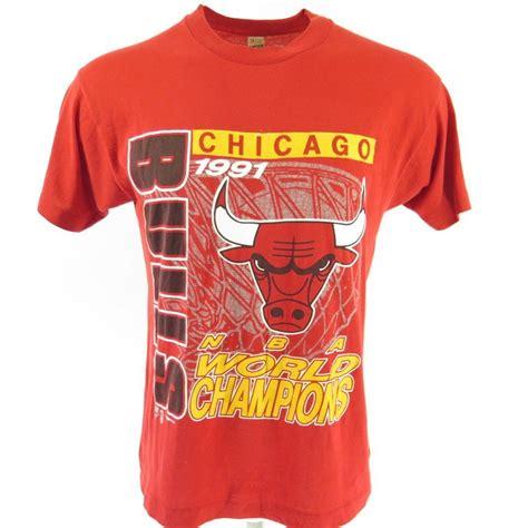 T Shirt Chicago Bulls 1 vintage 90s chicago bulls t shirt mens xl nba basketball