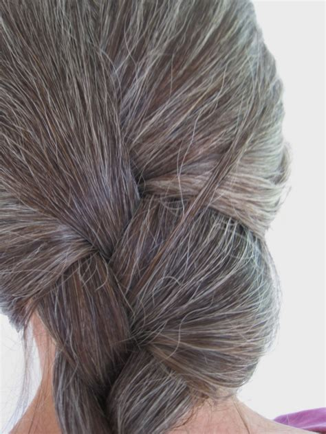 Ladies Hair Pieces For Gray Hair | hairpieces for women with gray hair short hairstyle 2013