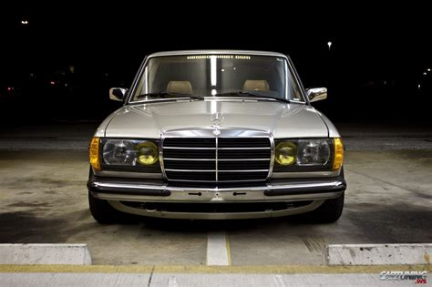 mercedes in tuning mercedes 300d w123 front