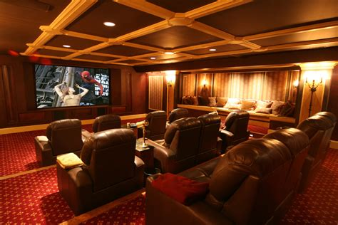home movie theatre decor diy home theater decor home theater transitional with