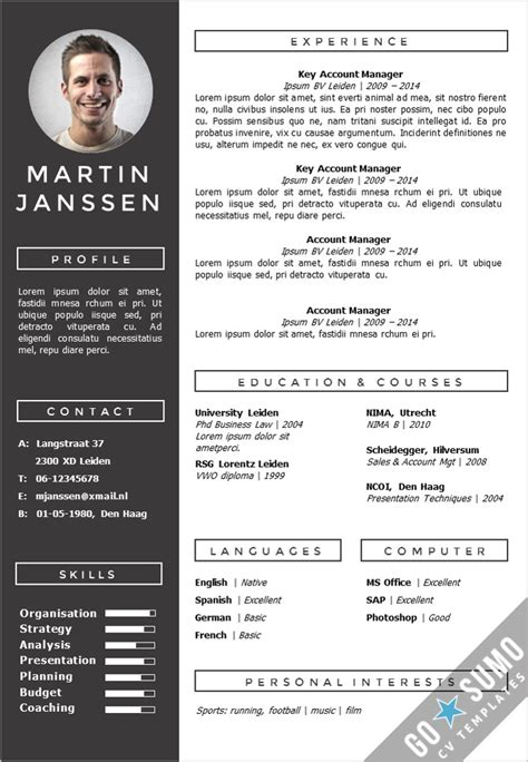 Best Resume Format Download Ms Word by Cv Template Geneve Go Sumo Cv Template