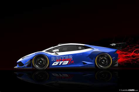Lamborghini Engineering Reiter Engineering Lamborghini Huracan Gt3 R Imagined