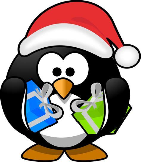 images of christmas penguins clipart santa penguin