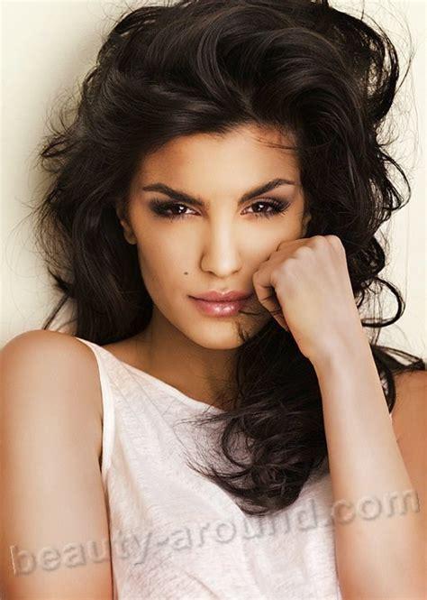 hair cutting arab model top 35 beautiful arab women photo gallery
