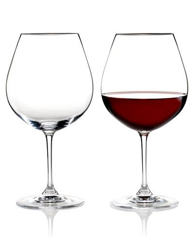 riedel barware riedel wine glasses set of 2 vinum pinot noir all