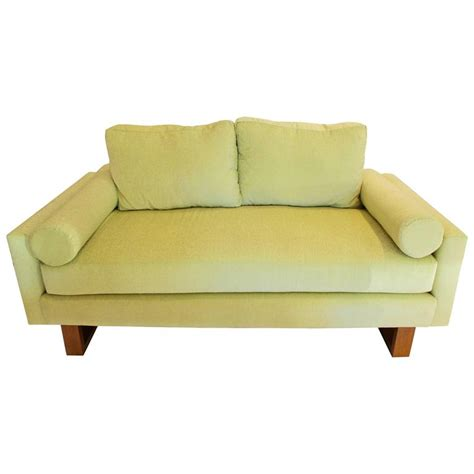 lime green sectional sofa mid century green lime sofa for sale at 1stdibs
