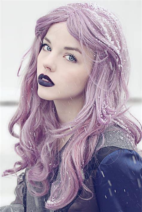 lilac hair color lavender hair copy it manic panic lipstick
