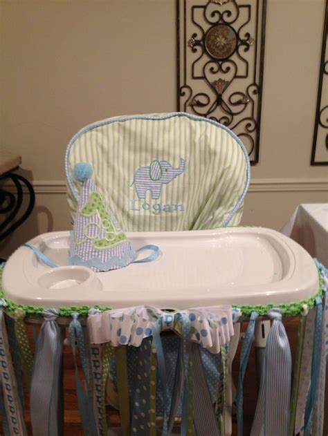 1st Birthday High Chair Cover by 657 Best Images About 1st Birthday On Baby Boy
