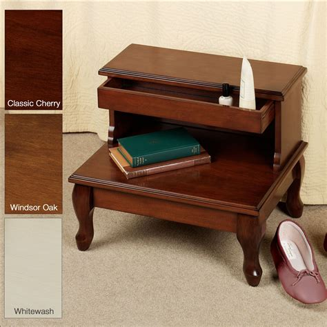 cessilee bed steps with storage