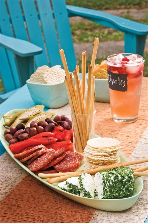 recipes for bridal shower food outdoor appetizer recipe ideas southern living
