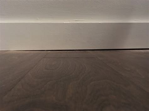 gap between and wall new construction gaps between floor and baseboards