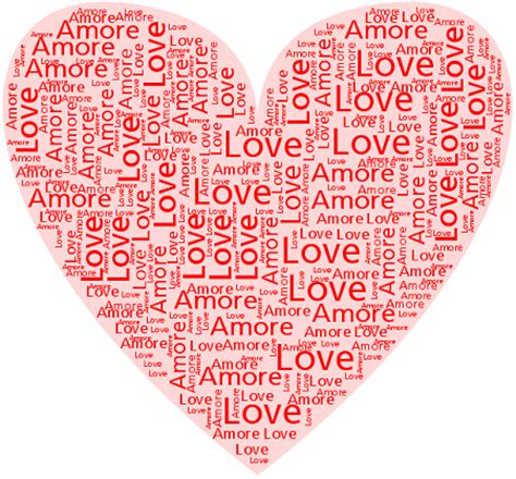 testo di cuori idee grafiche per san valentino 2010 cuore di parole